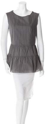 Hache Sleeveless Double Tier Top w/ Tags