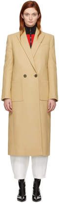 Givenchy Beige Wool Masculine Long Coat