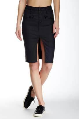 Black Orchid Zipper Pencil Skirt