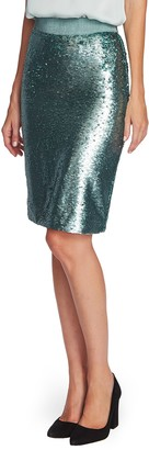 Vince Camuto Sequin Pencil Skirt