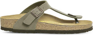 Birkenstock Toe thong faux-leather sandals
