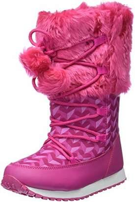 Agatha Ruiz De La Prada Girls' 181981 Slouch Boots, Pink Fucsia (Textil), 13UK Child
