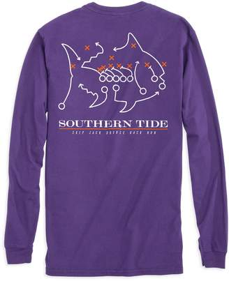 Southern Tide Skipjack Play Long Sleeve T-shirt - Clemson University