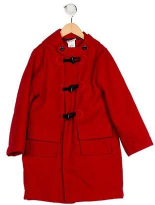 Florence Eiseman Girls' Hooded Swing Coat