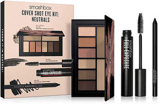 Smashbox 3-Piece Neutrals Cover Shot Eye Kit