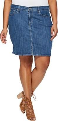 Levi's Women's Plus Size Icon Skirts