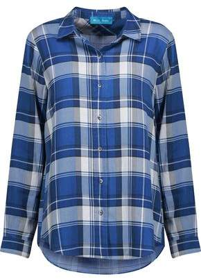 MiH Jeans Flight Checked Tencel-Flannel Shirt