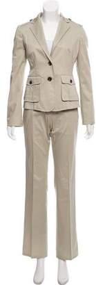 Burberry Two-Piece Pantsuit Set