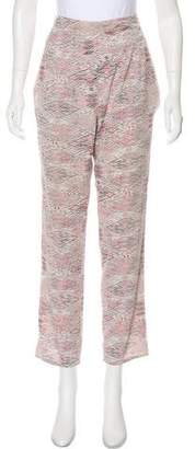 IRO Silk High-Rise Pants