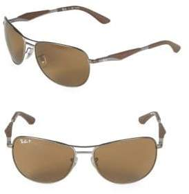 6d61180167 at Off 5th · Ray-Ban 59MM Classic Polarized Aviator Sunglasses