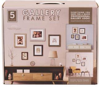 5pc Gallery Wall Framing Set
