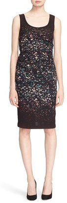Tracy Reese 'T' Print Stretch Silk Dress $318 thestylecure.com