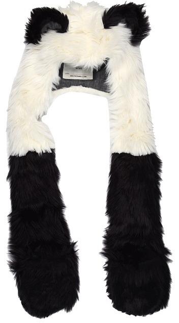 Spirit Hoods SpiritHoods - Panda (Kids) (White/Black) - Hats