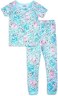 Nickelodeon Global Brands x Girls' Shimmer and Shine Shirt & Pants Pajama Set, Little Kid - 100% Exclusive