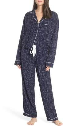 Rails Heart Print Pajamas