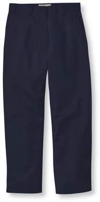 L.L. Bean L.L.Bean Wrinkle-Free Bayside Pants, Cropped Original Fit Hidden Comfort Waist