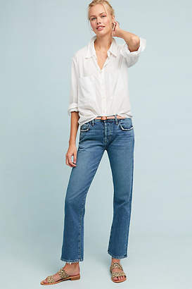 Current/Elliott The Original High-Rise Straight Jeans