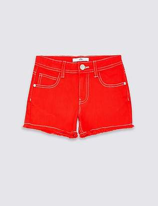 Marks and Spencer Denim Shorts with Stretch (3-16 Years)