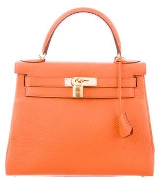 Hermes Clemence Kelly Retourne 28 w/ Tags