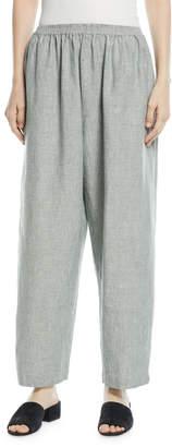 eskandar Side-Slit Japanese Trousers