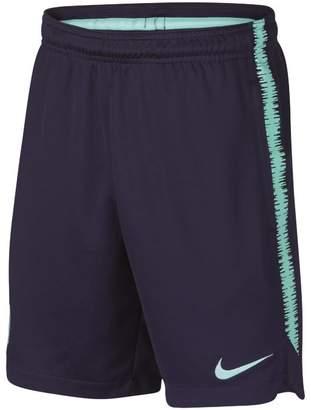 Nike FC Barcelona Dri-FIT Squad Older Kids'Football Shorts