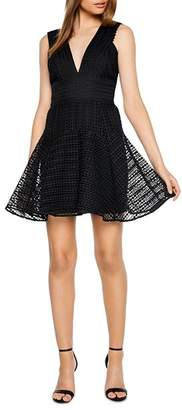 Bardot Lacey Fit-and-Flare Dress