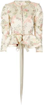 Brock Collection floral jacket