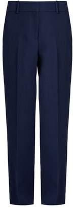 Sies Marjan - Tatum Tailored Straight Leg Trousers - Womens - Navy
