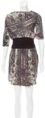 Giambattista Valli Printed Knee-Length Dress