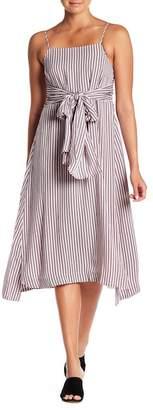 Sugar Lips Sugarlips Jardin Striped Midi Dress