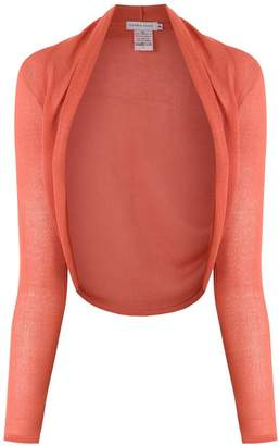 M·A·C Mara Mac open front cropped cardigan
