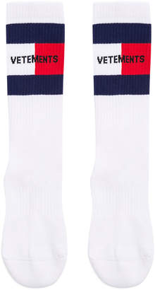 Vetements Logo Socks