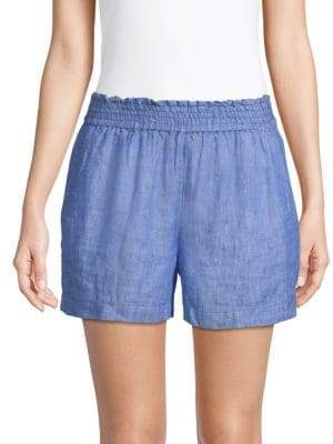 Joie Fenna Linen Shorts