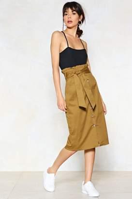 Nasty Gal It's In the Bag Midi Skirt