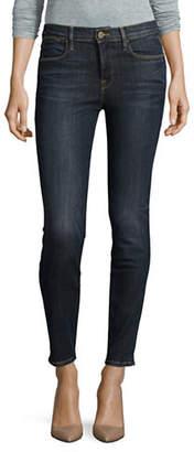 Frame Skinny High-Waist Denim Jeans