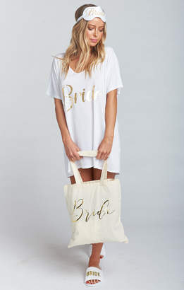 Show Me Your Mumu Ultimate Bridal Pack ~ White
