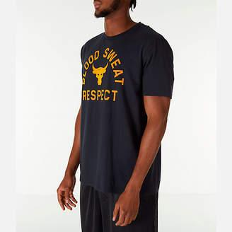 Under Armour Men's x Project Rock Blood Sweat Respect T-Shirt