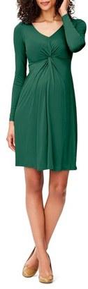 Women's Leota Print Knot Detail Jersey Dress $158 thestylecure.com