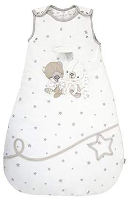 Mamas and Papas Millie and Boris Unisex Dreampod Sleep Bag, White, 0 to 6 Months, 2.5 Tog, Nursery Bedding, Baby Sleeping Bag