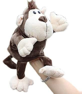 Yair Yangtze Plush Monkey Hand Puppets Educational Animal Hand Puppets for Kids