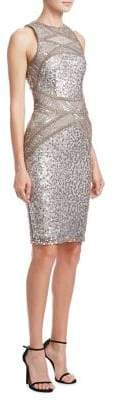 Rachel Gilbert Renee Embellished Dress