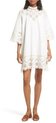 Women's Sea Eyelet A-Line Dress $460 thestylecure.com