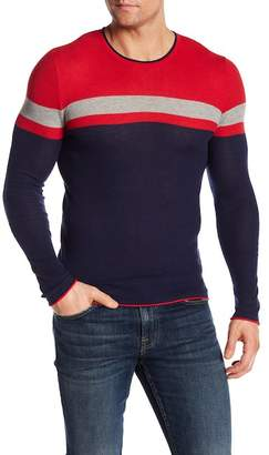 Parke & Ronen Colorblock Thermal Tee