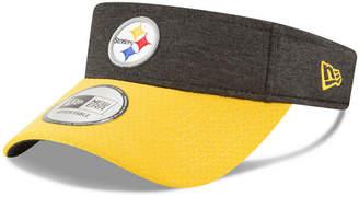 New Era Pittsburgh Steelers On Field Sideline Visor