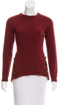 Brunello Cucinelli Button-Embellished Cashmere Sweater