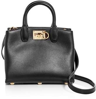 Salvatore Ferragamo Mini Studio Top Handle Bag