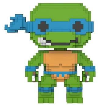 Leonardo Pop Vinyl Teenage Mutant Ninja Turtles) Funko 8-Bit Pop! Vinyl Figure