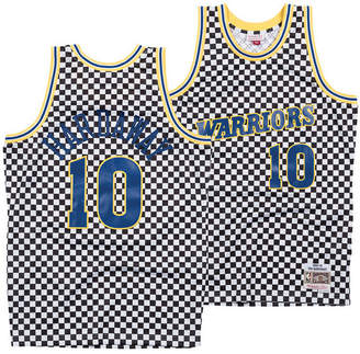 b17bac11314 Mitchell & Ness Men Tim Hardaway Golden State Warriors Checkerboard Swingman  Jersey