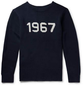 Polo Ralph Lauren Intarsia Wool Sweater - Men - Navy