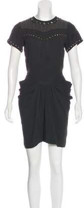 Isabel Marant Studded Mini Dress